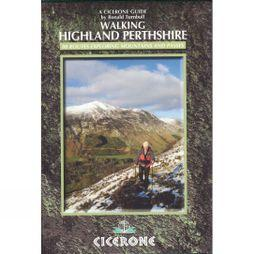 Cicerone Walking Highland Perthshire: 80 Routes Exploring Mountains and Passes No Colour