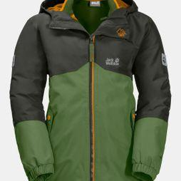 Jack Wolfskin Kids Iceland 3in1 Jacket ll Antique Green