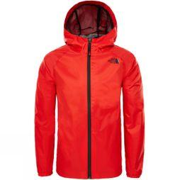 The North Face Boys Zipline Rain Jacket Fiery Red