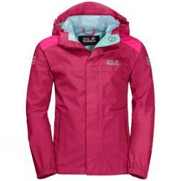 Jack Wolfskin Boys Oak Creek Jacket Azalea Red