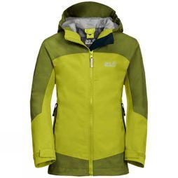 Jack Wolfskin Boys Akka Jacket Green Lime