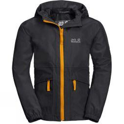 Jack Wolfskin Boys Hidden Falls Jacket Black