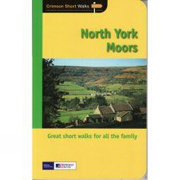Jarrold Publishing North York Moors: Crimson Short Walks No Colour