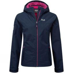 Jack Wolfskin Boys Iceland 3in1 Jacket ll 14+ Midnight Blue