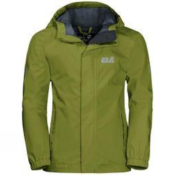 Jack Wolfskin Boys Pine Creek Jacket Green Tea