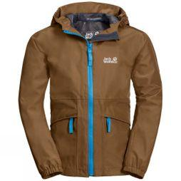 Jack Wolfskin Boys Hidden Falls Jacket Bark Brown