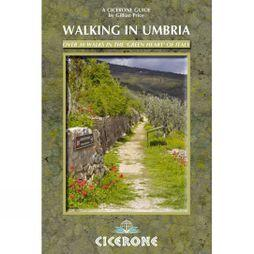 Cicerone Walking in Umbria No Colour