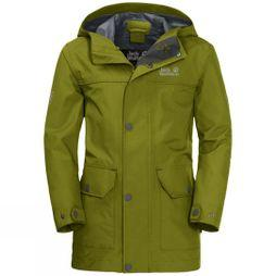Jack Wolfskin Boys Banner Jacket Green Tea