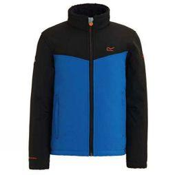Regatta Boys Rivendale Softshell Jacket Black/Oxford Blue
