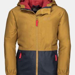 Jack Wolfskin Youth Snowy Days Jacket 14+ Golden Amber