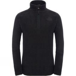 The North Face Kids Glacier 1/4 Zip Fleece Black