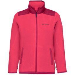 Vaude Boys Racoon Fleece Jacket Bright Pink