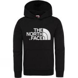 The North Face Drew Peak Pullover Hoodie Age 14+ Black/Black