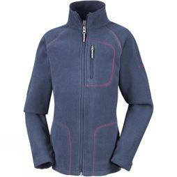 Columbia Youths Fast Trek II Full Zip Age 14+ Nocturnal/Wild Geranium