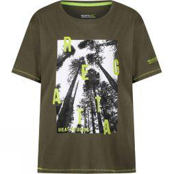 Regatta Kids Bosley T-Shirt Ivy Green
