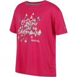 Regatta Kids Alvarado III T-Shirt Hot Pink