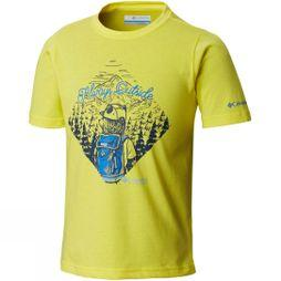 Columbia Boys Camp Champs Short Sleeve T-Shirt Autzen Bear Graphic