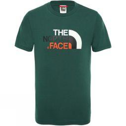 The North Face Youth Easy Tee Age 14+ Night Green