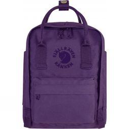 Fjallraven Re-Kånken Mini Rucksack Deep Violet