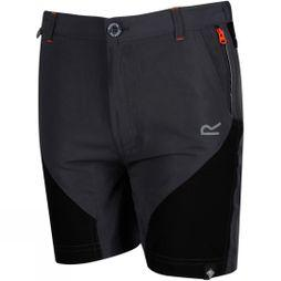 Regatta Kids Sorcer Mountain Shorts Age 14+ Seal Grey / Black