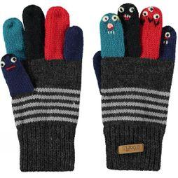 Barts Kids Puppet Glove Dark Heather