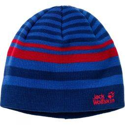 Jack Wolfskin Kids Cross Knit Cap Royal Blue