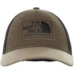 The North Face Kids Mudder Trucker Hat New Taupe Green/TNF Black