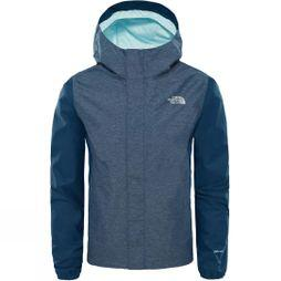 The North Face Girls Resolve Reflective Jacket  Blue Wing Teal Heather