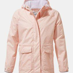 Craghoppers Girls Abelie Jacket Rosette Print