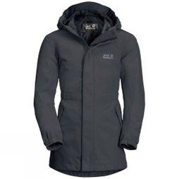 Jack Wolfskin Girls Hidden Falls Jacket Ebony