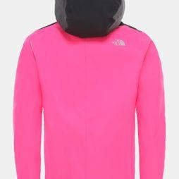 The North Face Girl's Resolve Reflective Jacket Mr. Pink