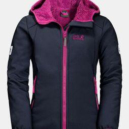 Jack Wolfskin Girls Kissekatt Jacket Midnight Blue