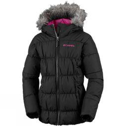 Columbia Girls Gyroslope Jacket Black,Catuc Pink