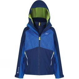 Regatta Kids Hydrate IV 3 In 1 Jacket 14+ Prussian Blue/Oxford Blue