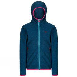 Regatta Girls Totten Midlayer Fleece Moroccan Blue/Moroccan Blue Reflective