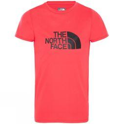 The North Face Girls Short Sleeve Reaxion T-Shirt Atomic Pink