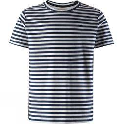 Reima Girls Boarding T-Shirt Navy/White Stripe