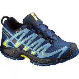 Salomon XA Pro 3D CSWP Junior Bottie Midnight Blue / Blue Gum