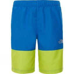 The North Face Boys Class V Swim Short Turkish Sea Mountain Stripe Phantom Print