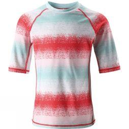 Reima Boys Fiji Sun Protection Top Pink Stripe