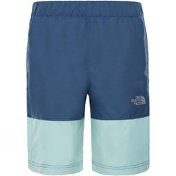 The North Face Boys Class V Short 14+ Shady Blue Mountain Stripe Phantom Print