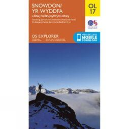 Explorer Map OL17 Snowdon and Conwy Valley