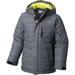 Columbia Boys Alpine Free Fall Jacket Black Texture Print