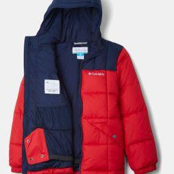 Columbia Boys Gyroslope Jacket Mountain Red/ Collegiate Navy
