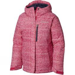 Columbia Girls Alpine Free Fall Jacket Cactus Pink Texture Print