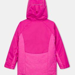 Columbia Girls' Alpine Action II Ski Jacket G-Pink Ice