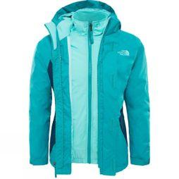 The North Face Girls Kira Triclimate Jacket Kokomo Green