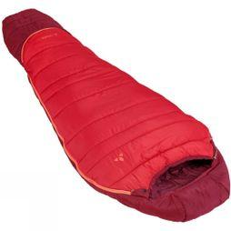 Vaude Alpli Adjust 500 SYN Sleeping bag Dark Indian Red