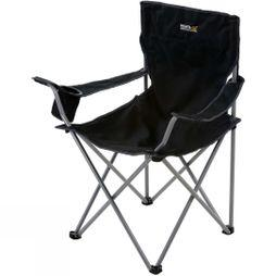 Regatta Isla Chair Black/Seal Grey