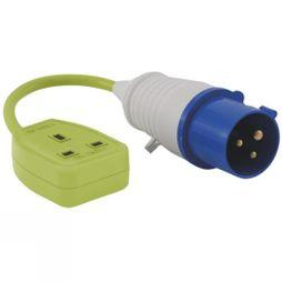 Outwell Conversion Lead Socket - UK No Colour